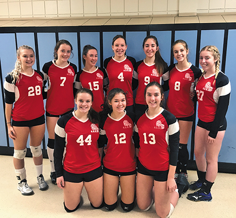 1 All Four Gab Roy Volleyball Squads Reach Provincials Pic