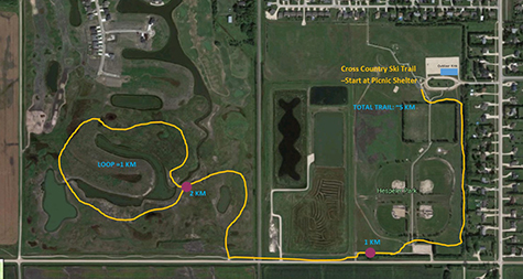 1 Niverville Introduces New Cross Country Ski Route Pic