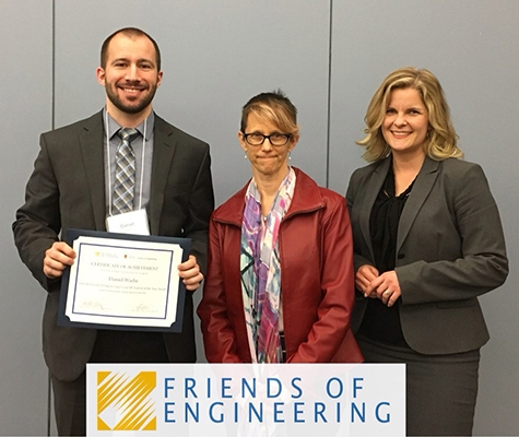 1 Niverville Named Engineer Student Of The Year Pic