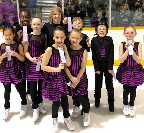 1 Niverville Synchro Team Skates To Silver Pic