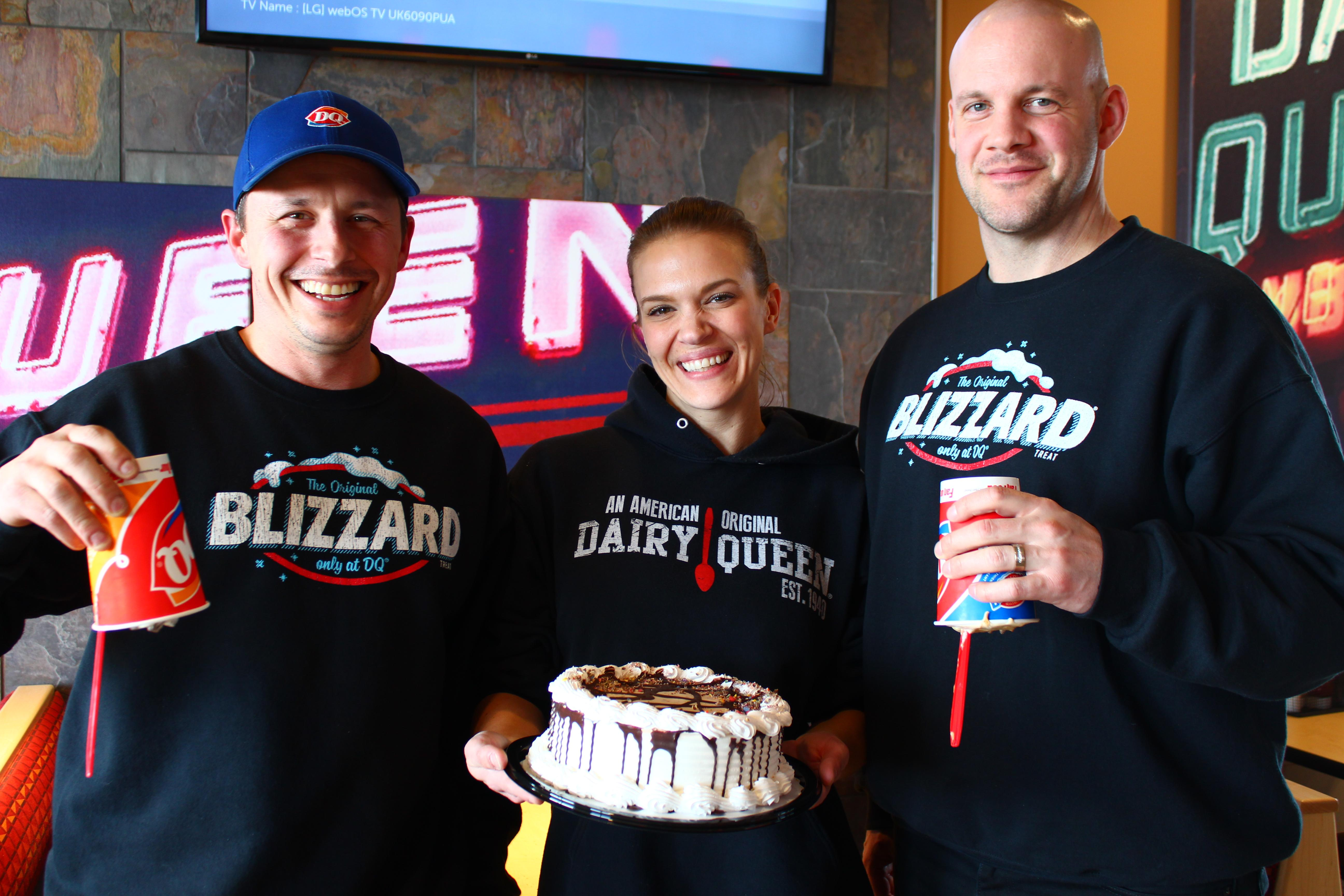 Remarkable Dairy Queen Gears Up For Opening Day Niverville Citizen Funny Birthday Cards Online Elaedamsfinfo
